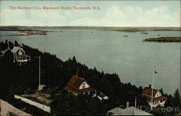 The Harbour View from Markland Hotel Yarmouth Canada