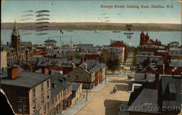 George Street, Looking East Halifax Canada Nova Scotia