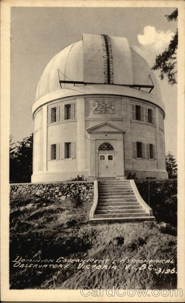 Dominion Government's Astronomical Observatory Victoria Canada