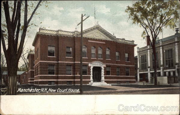 New Court House Manchester New Hampshire