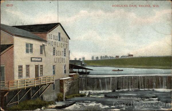 Horlicks Dam Racine Wisconsin