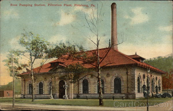Ross Pumping Station, Filtration Plant Pittsburgh Pennsylvania