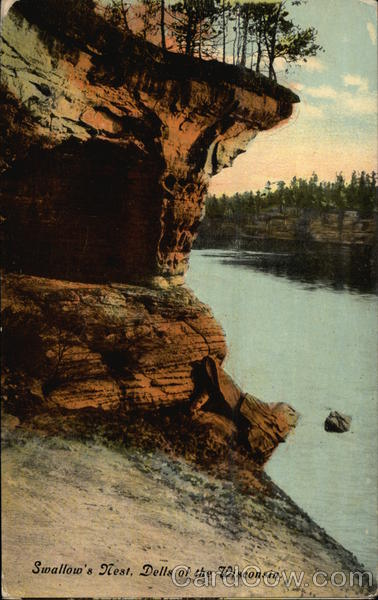 Swallow's Nest, Dells of the Wisconsin Wisconsin Dells