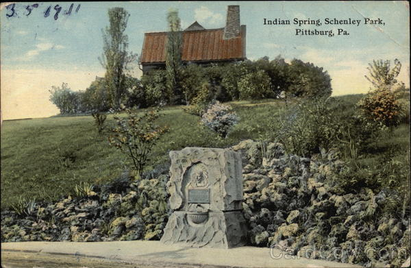 Indian Spring at Shenley Park Pittsburgh Pennsylvania