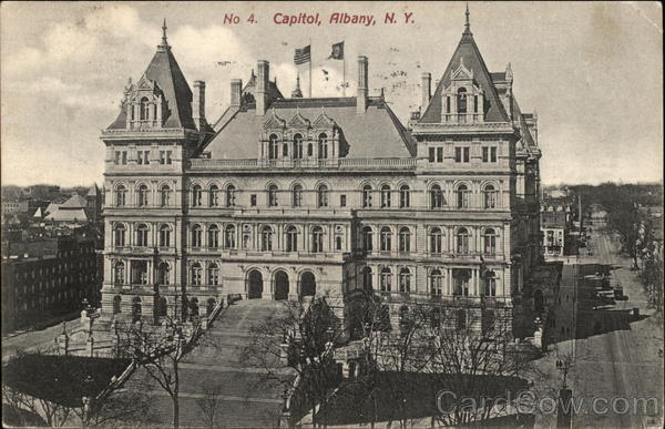 View of Capitol Building Albany New York