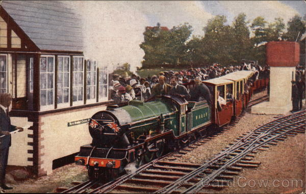 Romney, Hythe and Dymchurch Railway Railroad (Scenic)