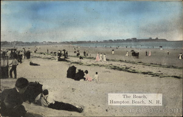 The Beach Hampton Beach New Hampshire
