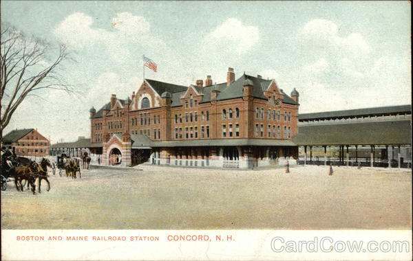 Boston and Maine Railroad Station Concord New Hampshire