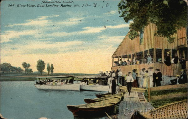 River View and Boat Landing Racine Wisconsin