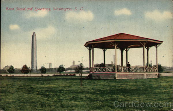 Band Stand and Speedway Washington District of Columbia