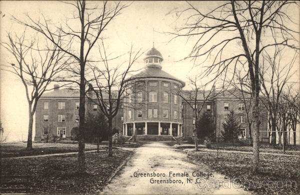 Greensboro Female College North Carolina