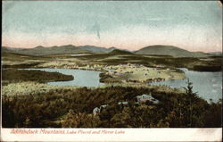 Adirondack Mountains, Lake Placid and Mirror Lake