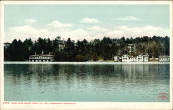 Loon Lake House, From the Lake