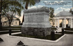 Tomb of the Unknown, The Temple of Fame and Rear of the Curtis-Lee Mansion