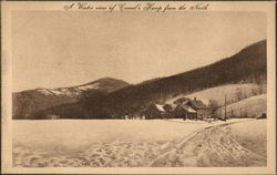 A Winter View of Camel's Hump from the North