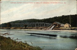 Oxford Paper Co.'s Cutting Up Mill at Virginia