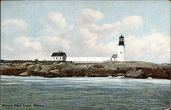 Moose Peak Light Postcard