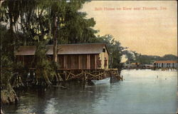 Bath House on River