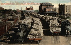 Cotton Blockade - Texas produces more cotton than any other state!