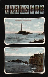 Longships Lighthouse & View of Lands End