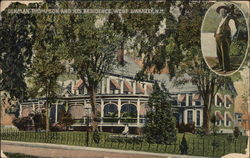 Denman Thompson and his residence