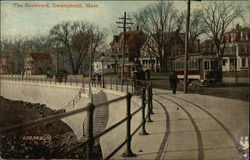 The Boulevard View Postcard