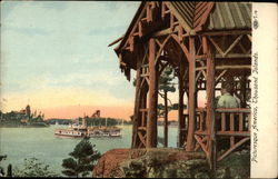 Picturesque America, Thousand Islands