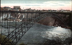 Niagra Falls and Upper Street Arch Bridge