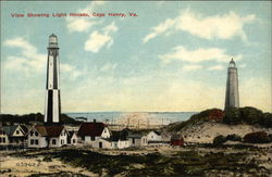 View Showing Lighthouses
