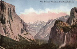 Yosemite Valley from Artist Point