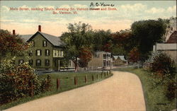 Main Street, looking South, showing So. Vernon House and Store