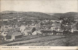 Wilmington, Vt., from Jones Hill
