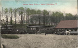 Narrow Gauge, Train & Station