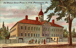 Old Walnut Street Prison in 1774