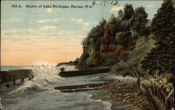Shores of Lake Michigan