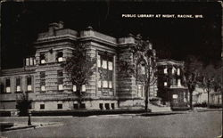 Public Library at Night