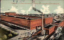 Pittsburg Terminal Warehouse, Covering three City Blocks