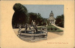 Fountain and Court House