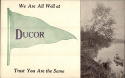 We Are All Well at Ducor, Trust You Are the Same