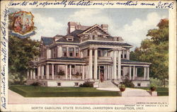 North Carolina State Building, Jamestown Exposition, 1907