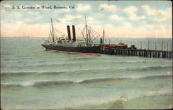 S.S. Governor at Wharf