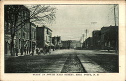 Scene on North Main Street