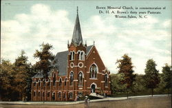 Brown Memorial Church, in commemoration of Dr. H.A. Brown's thirty years Pastorate