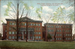 Salem Female Academy, over 100 years old, Leading College of the South