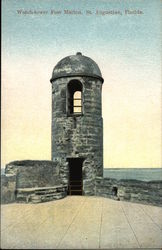Watch-tower at Fort Marion
