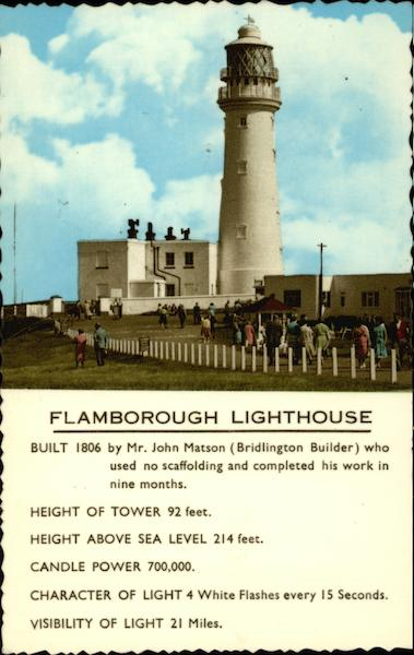 Flamborough Lighthouse Flamborough Head England