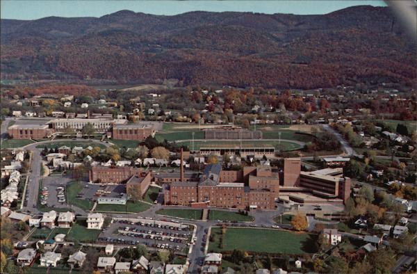 Cumberland Maryland's Memorial Hospital and Fort Hill High School