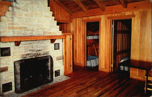 Lake Hope State Park Interior Of Housekeeping Cabin