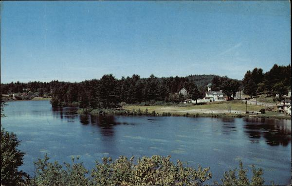 A Glimpse of the Village of Long Lake New York