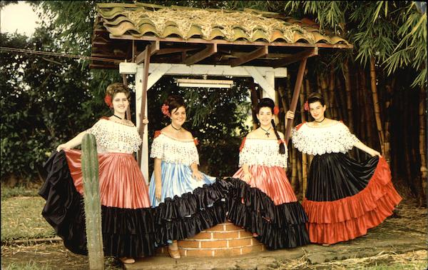 Members of the ABC Association of Costa Rican Dances